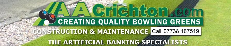 AA Crichton For Bowling Greens that are true level and fast